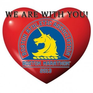 Boston Marathon - We are with you