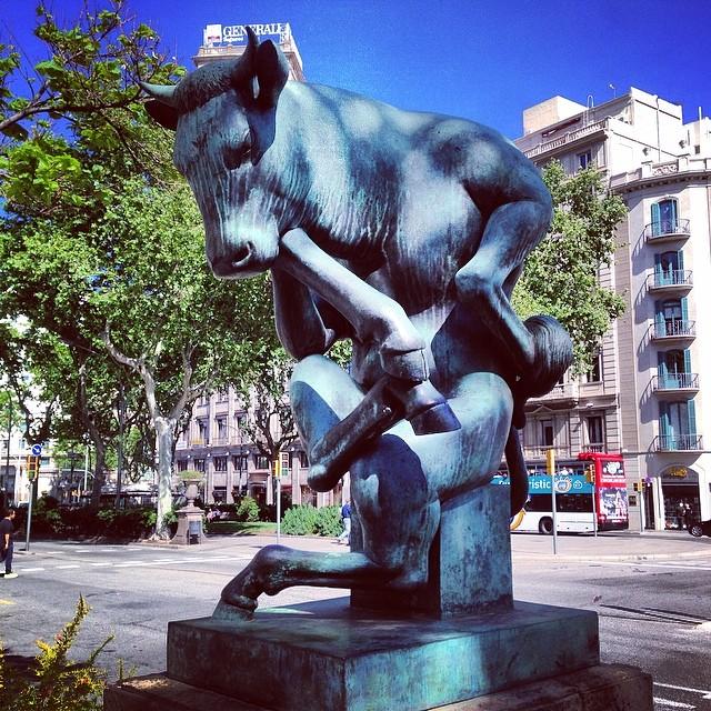 Pensieroso  #barcelona  #spain #instagood  #instamood  #iphonesia #hipstamatic #picoftheday #photooftheday #poldo_