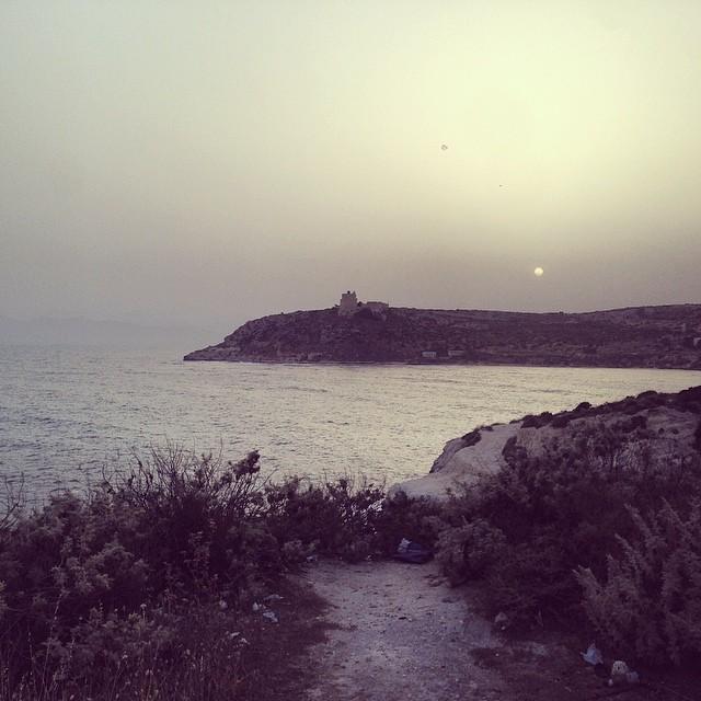 Calamosca sunset  #sunset #sea #cagliarifornia #cagliari #casteddu #sardegna #sardinia #italy #italia #hipstamatic #picoftheday #instagood #photooftheday #instamood #iphonesia #instaitalia #igersardegna #igersitalia #poldo_