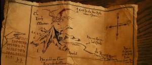 Lo Hobbit-La mappa
