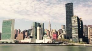 Manhattan from Roosevelt Island