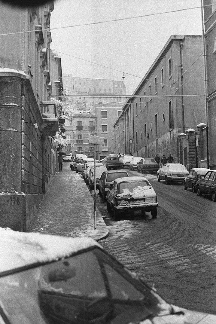 1985 Neve a Cagliari