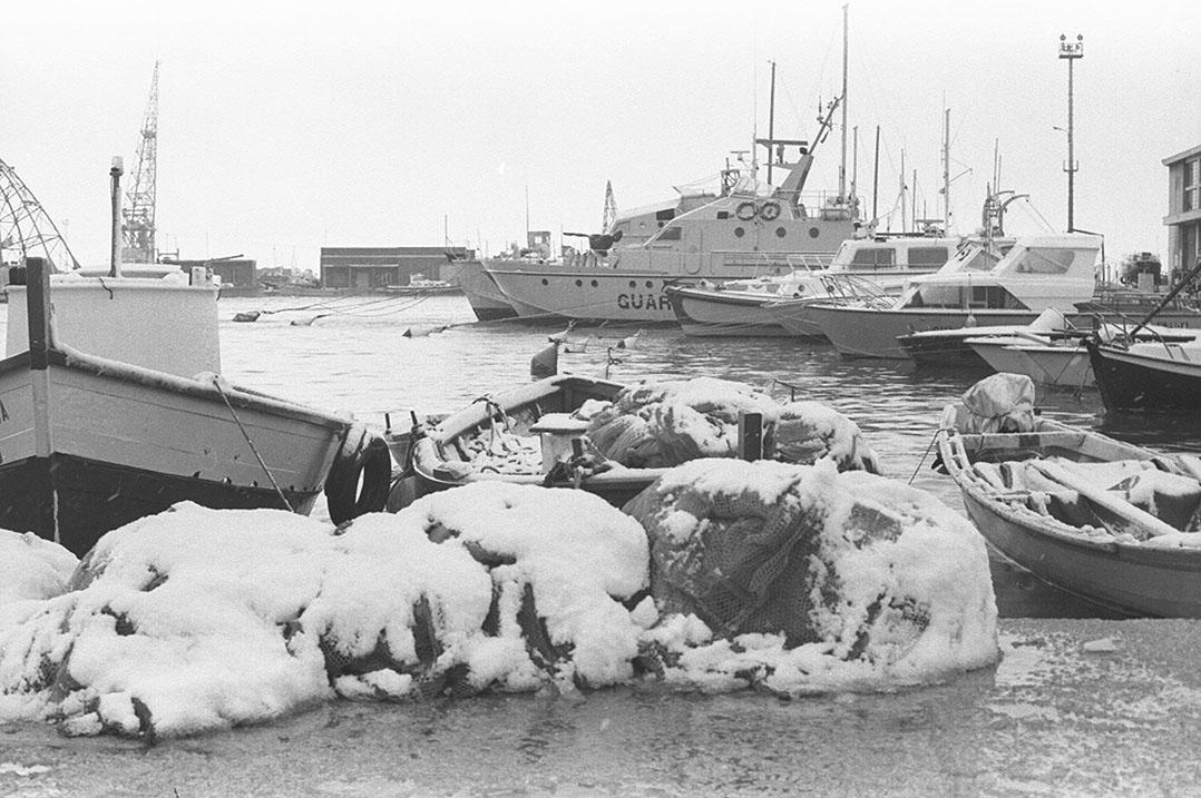 1985 Neve a Cagliari - Porto