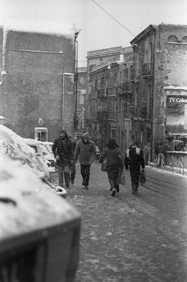 1985 Neve a Cagliari - Bastione