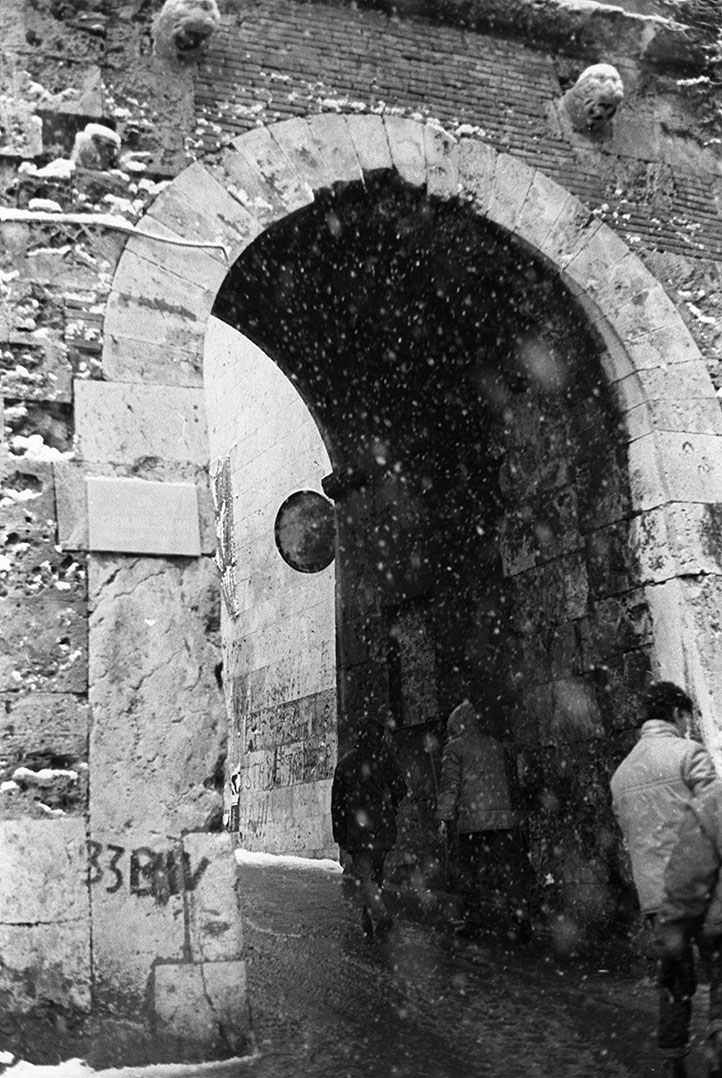 1985 Neve a Cagliari - Porta dei Leoni