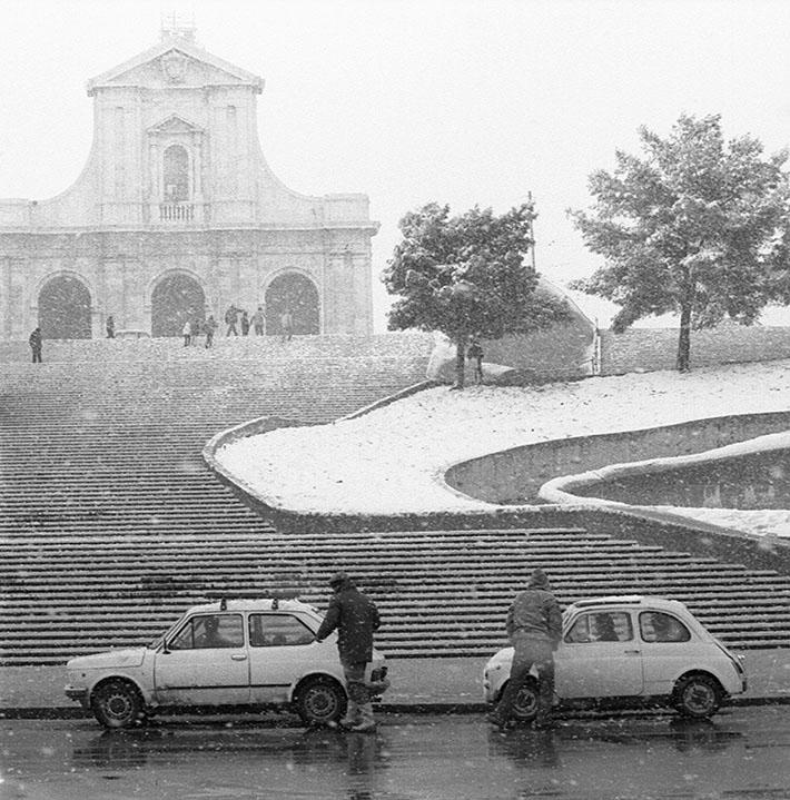 1985 Neve a Cagliari - Bonaria