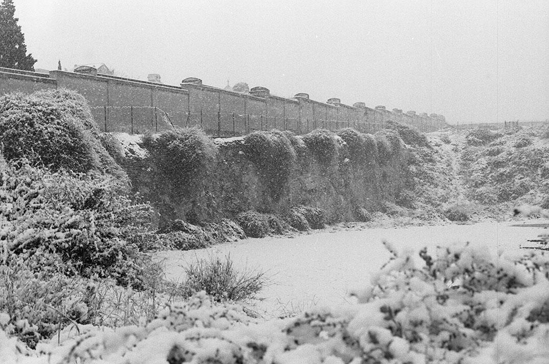 1985 Neve a Cagliari - Via Milano