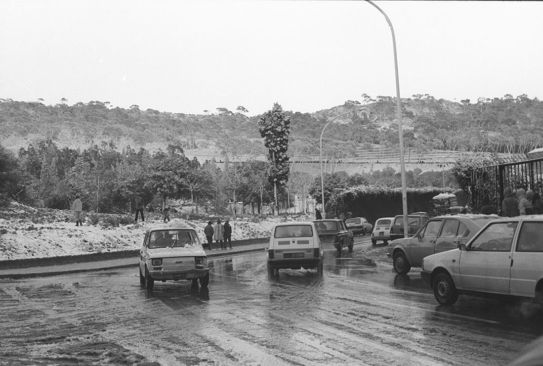 1985 Neve a Cagliari - Monte Urpinu