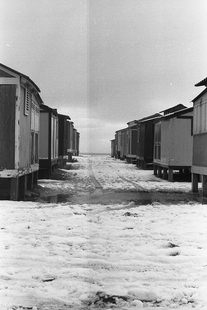 1985 Neve a Cagliari - Casotti al Poetto