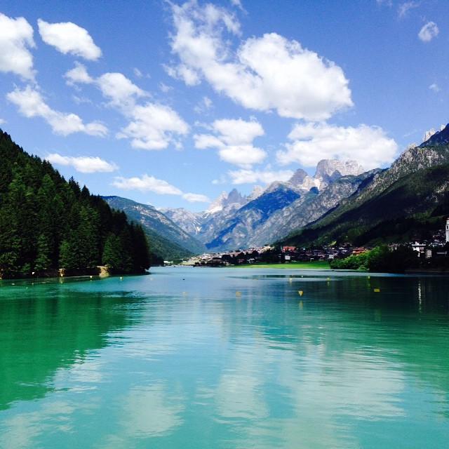 Arrivederci Dolomiti  #Dolomiti #italy #italia #picoftheday #instagood #instamood #instaitalia #poldo_ #mount