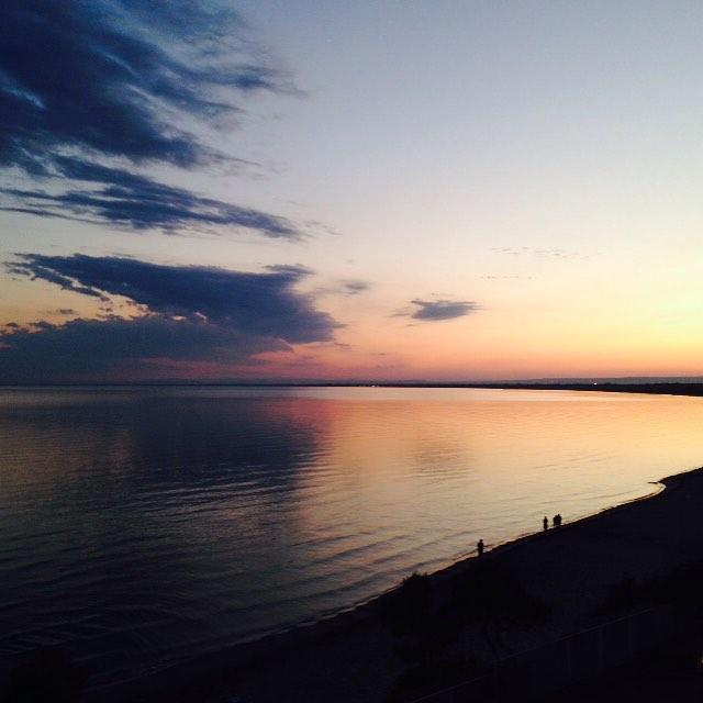 Tramontato #sea #sunset #italy #instagood #instamood #instaitalia #picoftheday #poldo_